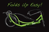 Elliptigo folded